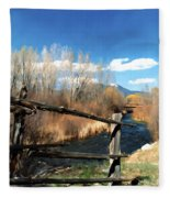 Rio Pueblo Fleece Blanket