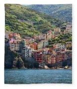 Riomaggiore 0577 Fleece Blanket