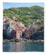 Riomaggiore 0583 B Fleece Blanket