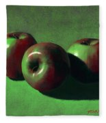 Ripe Apples Fleece Blanket