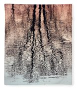 Rippled Reflection Fleece Blanket
