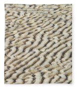 Ripples In The Sand IIi Fleece Blanket