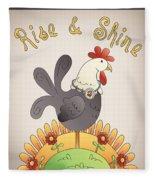 Rise And Shine-jp2836 Fleece Blanket