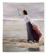 Rising Tide Fleece Blanket