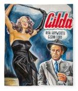 Rita Hayworth Gilda 1946 Fleece Blanket