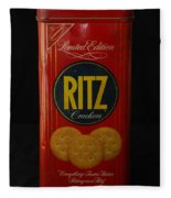 Ritz Crackers Fleece Blanket
