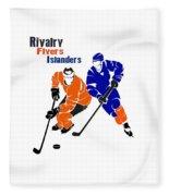 Rivalry Flyers Islanders Shirt Fleece Blanket