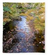 River 3 Fleece Blanket