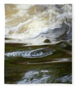 River Aux Sables, Ontario, May 2015 Fleece Blanket