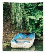 River Avon Boat Fleece Blanket