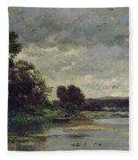 River Bank Fleece Blanket