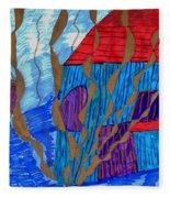 River House Fleece Blanket