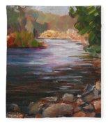River Light Fleece Blanket