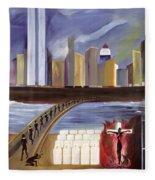 River Of Babylon  Fleece Blanket