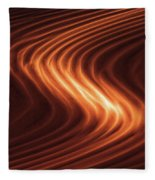 River Of Fire Fleece Blanket