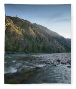 River Of No Return Fleece Blanket