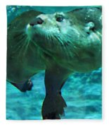 River Otter Fleece Blanket