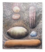 River Rock 1 Fleece Blanket