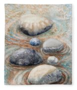 River Rock 2 Fleece Blanket