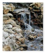 River Rock Of The Unknown Fleece Blanket