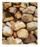 River Stones Fleece Blanket