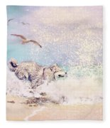 River Tease Fleece Blanket