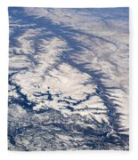 River Valley Aerial Fleece Blanket