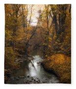 River Views Fleece Blanket
