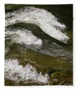 River Waves Fleece Blanket