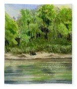 Riverbank Fleece Blanket