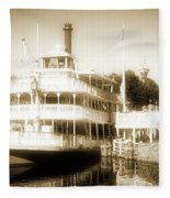Riverboat, Liberty Square, Walt Disney World Fleece Blanket