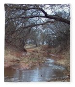Rivers Bend Fleece Blanket
