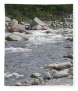 Rivers Of New Hampshire Fleece Blanket