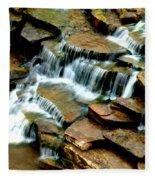 Riverside Place Falls  Fleece Blanket