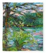 Riverview Spring Stage One Fleece Blanket