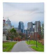 Riverwalk - Philadelphia Fleece Blanket