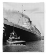 Rms Queen Elizabeth Fleece Blanket