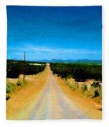 Road Fleece Blanket