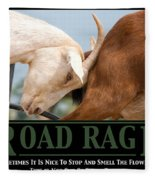 Road Rage Fleece Blanket