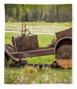 Road Side Art II Fleece Blanket