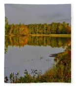 Road To Beauty Fleece Blanket