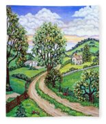 Road To Home Fleece Blanket