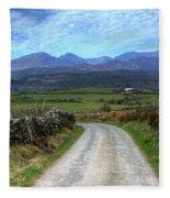 Road To Paradise Fleece Blanket