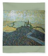 Road To Tuscany Fleece Blanket