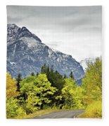 Road Too Autumn Fleece Blanket