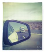 Roadtrip, Us Freeway Fleece Blanket