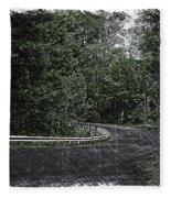 Roadway Fingers Lakes New York Area Pa 02 Fleece Blanket