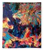 Roar Large Work Fleece Blanket