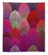 Roaring 20's Crazy Jazz Fleece Blanket