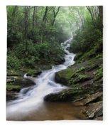 Roaring Fork Falls Fleece Blanket
